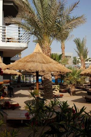 Hurghada SeaGull Beach Resort: First little beach