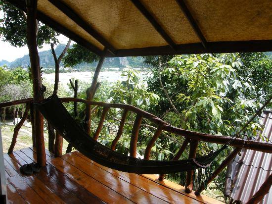 Phuphaya Seaview Resort: I lived in this hammock for our sort visit; AMAZING!!!