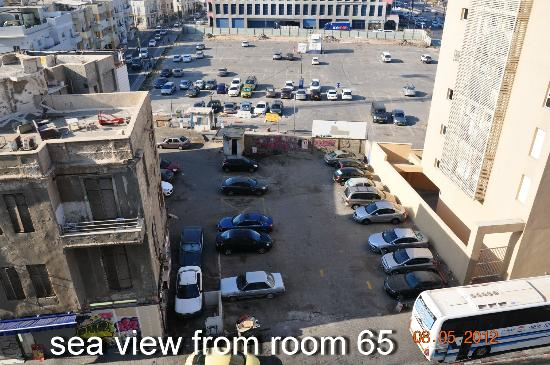 Sea Executive Suites: sea ​​view from room 65