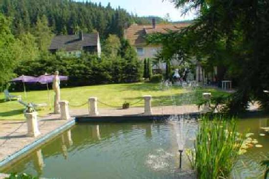 Wellness - Pension Sonneck: Garten vom Sonneck - ein kleines Paradies