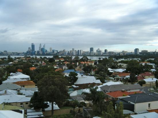 Metro Hotel Perth: View from the top