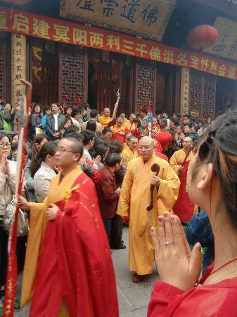 Wheely Bike Tours: buddistisch feest in jade budda temple