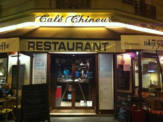 Restaurant Le Chineur Paris