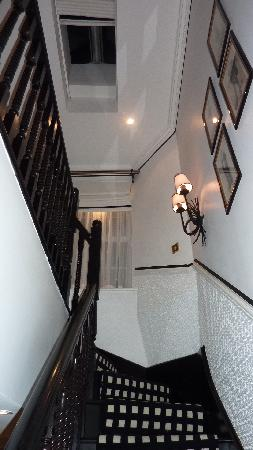 Hotel 41: staircase