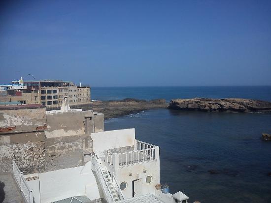 Riad La Rose des Vents: Panorama Mare dalla terrazza