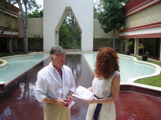 Hotel Sak-Ol K'aax: Jungle Wedding April 2012