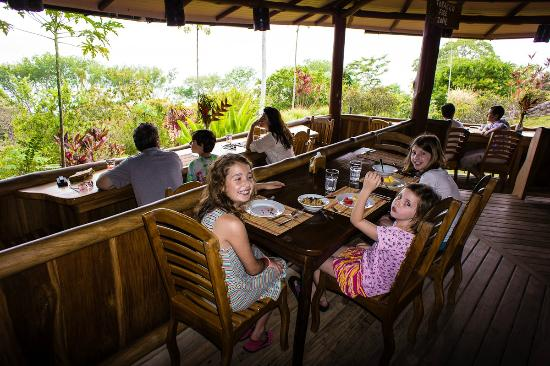 La Cusinga Eco Lodge: dining