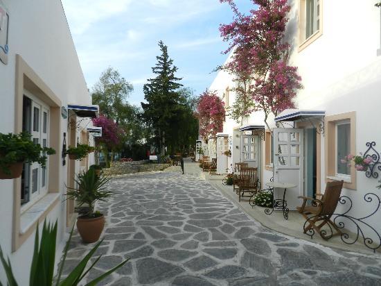 Hotel Comca Manzara: allée des chambres