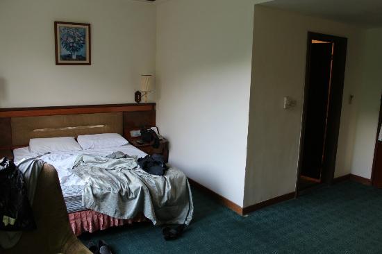 New Plaza Hotel: Bedroom view