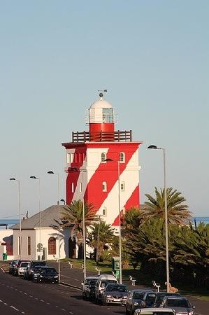 Dolphin Inn Guesthouse, Mouille Point: Light house at Mouille
