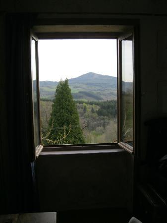 Maison d'Hôtes de la Verrière : View from room