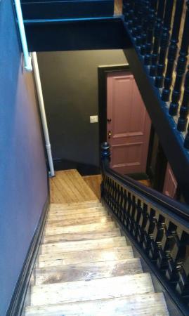 Bed & Breakfast Mont Morris : Treppenhhaus ist recht schmal