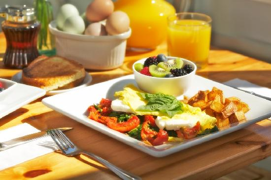 Abby's Place: sunny morning breakfast omlette