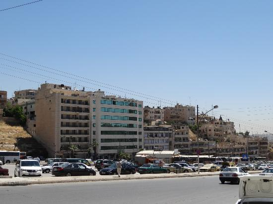 Toledo Amman Hotel View Of From The Old Abdali Bus Station Side