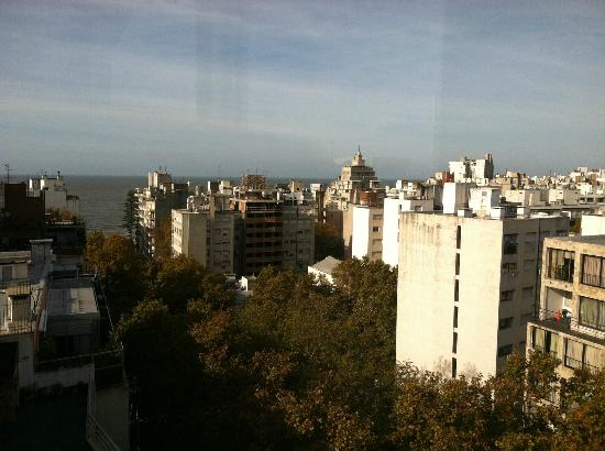Marti Apart Hotel: View from breakfast on 12th floor