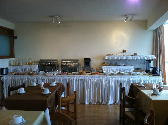 Marti Apart Hotel: Breakfast