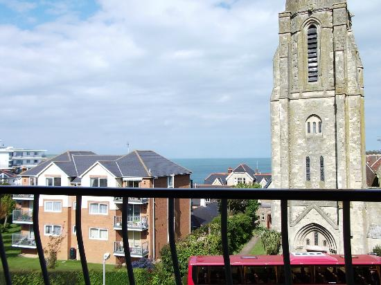 Shanklin, UK: View from balcony