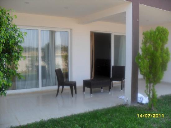 Hotel Anavadia: our room balcony