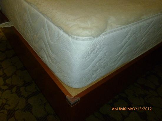 Hilton Garden Inn Danbury: One of the most uncomfortable beds unless you like it very firm.