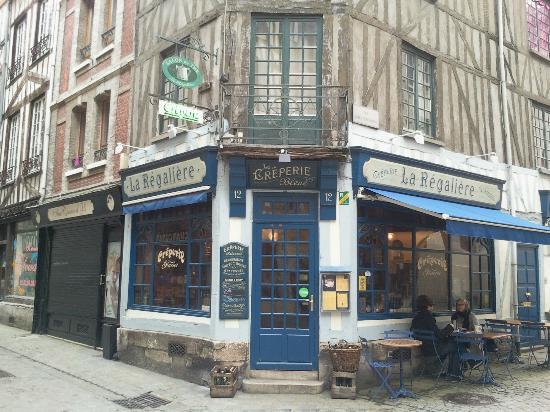 Restaurant  Rue Massacre Rouen