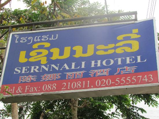 Sernalli Hotel: Panneau de l'hotel