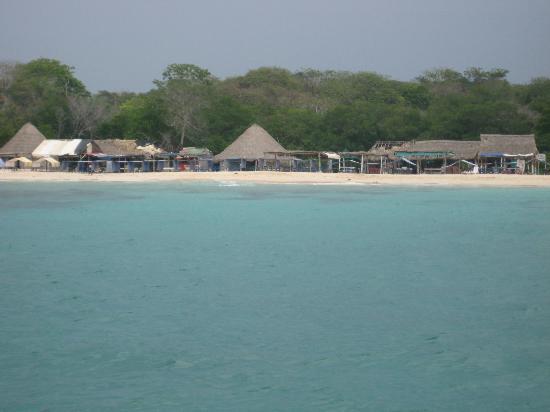 Isla Baru, Kolumbia: Playa Blanca, Isla Barú, Colombia