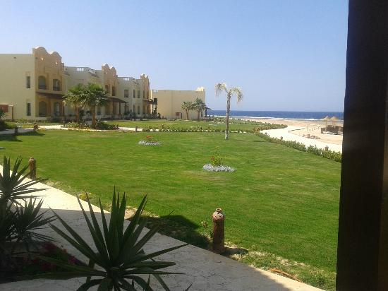 Concorde Moreen Beach Resort & Spa Marsa Alam: vista dalla camera