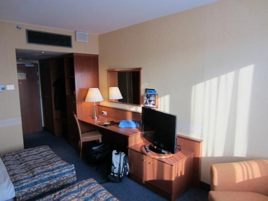 Scandic Wroclaw: Doppelzimmer