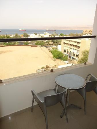 Mina Hotel: Balcony