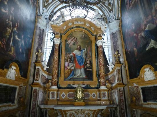 Beautiful Altar Fotografia De Iglesia De San Luis De Los Franceses