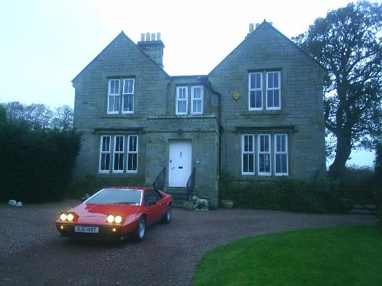 The Old Manse Chatton: A view from the drive 2