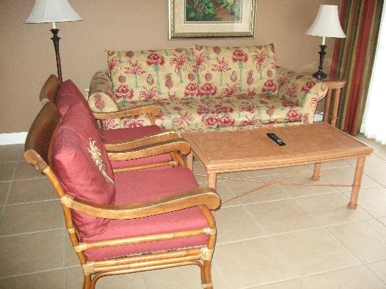 Legacy Vacation Resorts-Lake Buena Vista: sofa