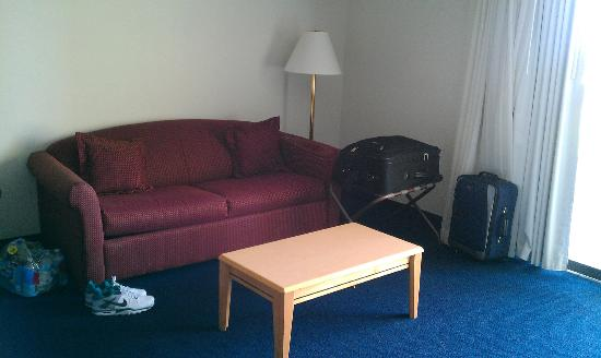 Sea Bay Hotel: Pull out sofa