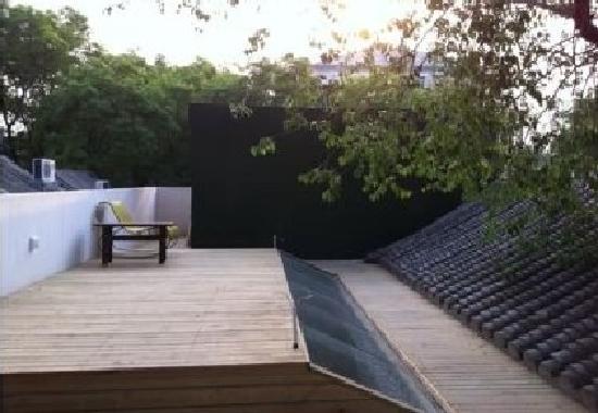بكين هوتونجرن كورت يارد هوتل: terrace