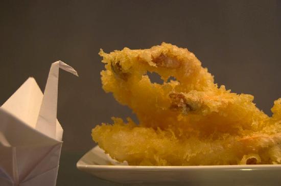 Sushi di Alessandra Stilo : tempura di gamberi