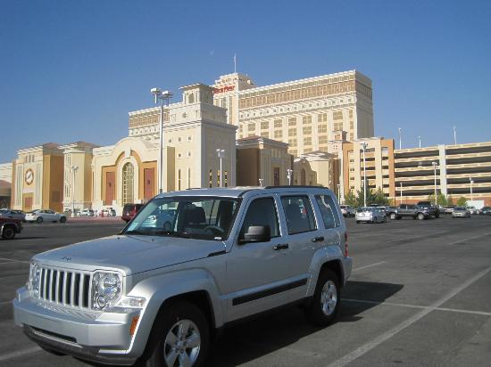 Parking Outside And In Garage Picture Of South Point Hotel And Casino Las Vegas Tripadvisor