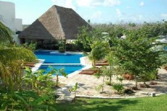 Sotavento Hotel & Yacht Club: Vista Aerea del Hotel Sotavento & Yatch Club