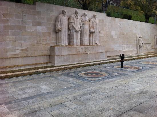 Reformation Wall (Mur de la Reformation): reformation wall- historically significant