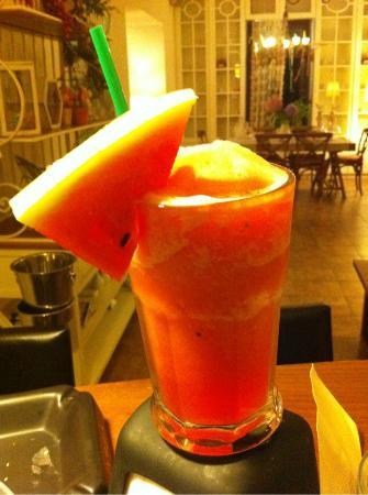 Boutique Hotel Kentrikon: Frozen watermelon!!