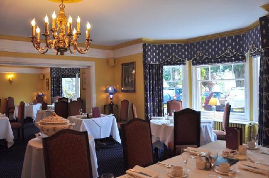 Beechwood Hotel: Part of the restaurant