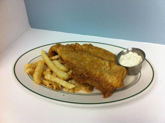 The Diner: Friday's Blue Plate Special Fish and Chips