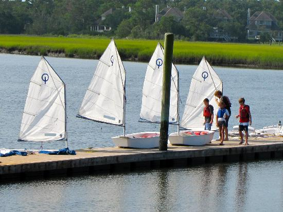 The Sail Shop Tours: Opti Sailing Lessons