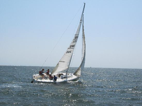The Sail Shop Tours: Funsails on our J80 Sailboats!