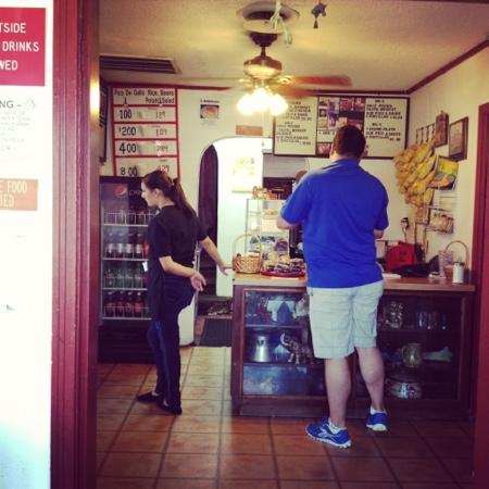 Check Out Counter at Red Barn BBQ