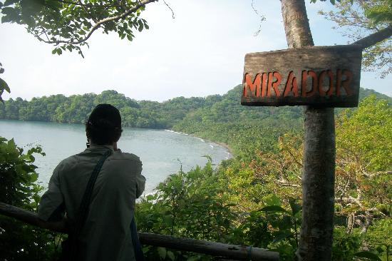 Curu National Wildlife Refuge: on of the hiking trails lookout