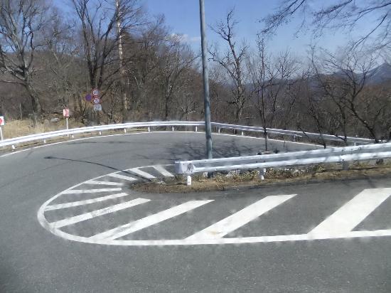 Irohazaka Route : 急カーブの連続