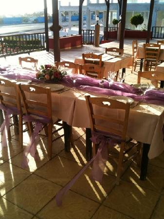 Krasares Restaurant: our wedding reception