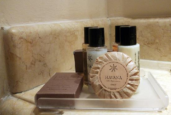Mercure Catania Excelsior: Toiletries