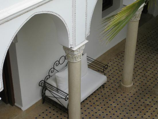 Le jardin d'Abdou: cosy seat