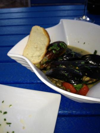 Trabue : P.E.I. mussels appetizer